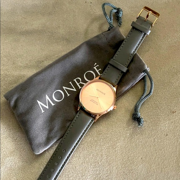 Monroe Sunburst Solerose Watch
